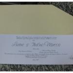 Papel especial para envolver convite 2